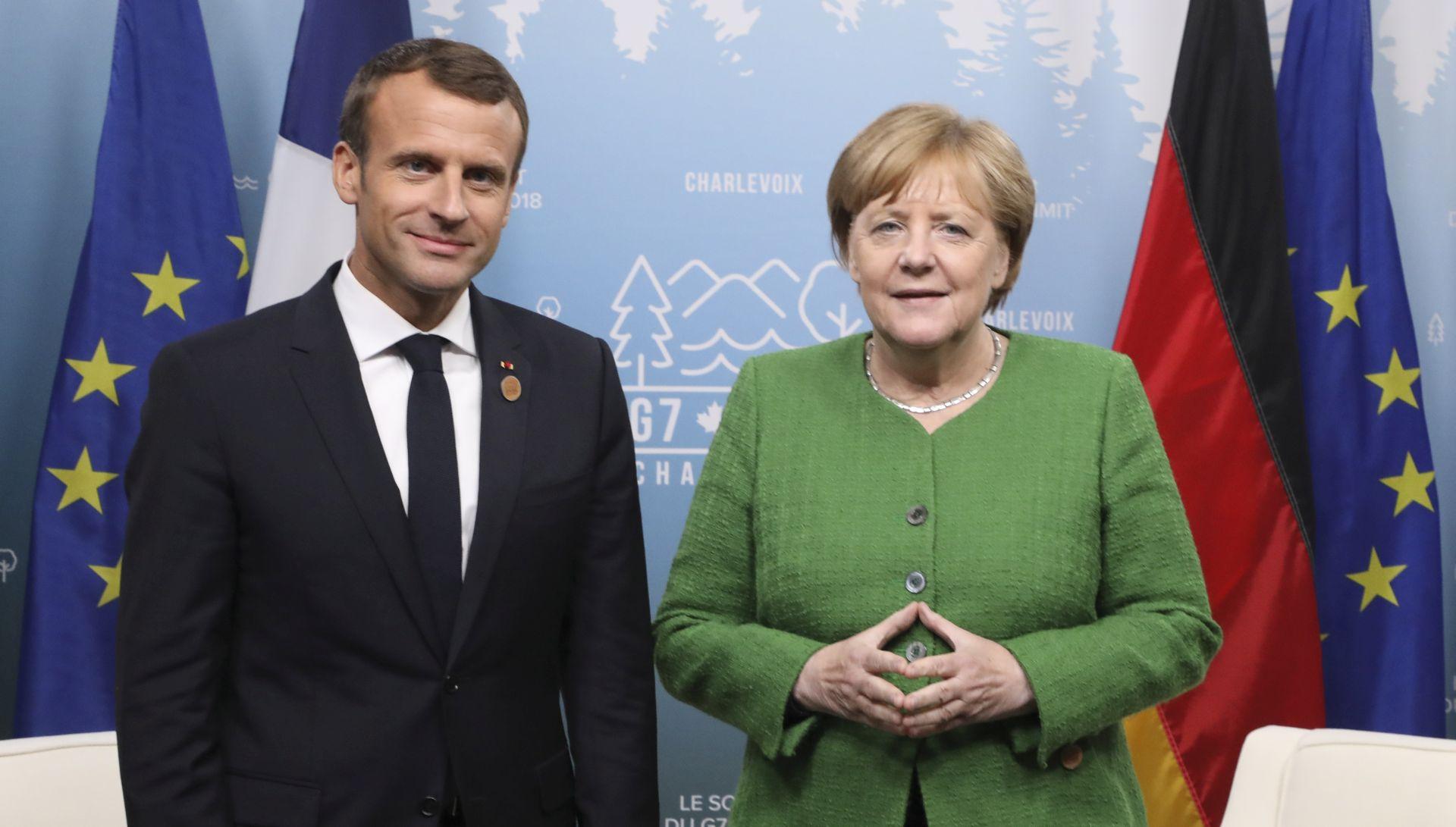 Macron u utorak kod Merkel kako bi učvrstili veze u podijeljenoj Europi