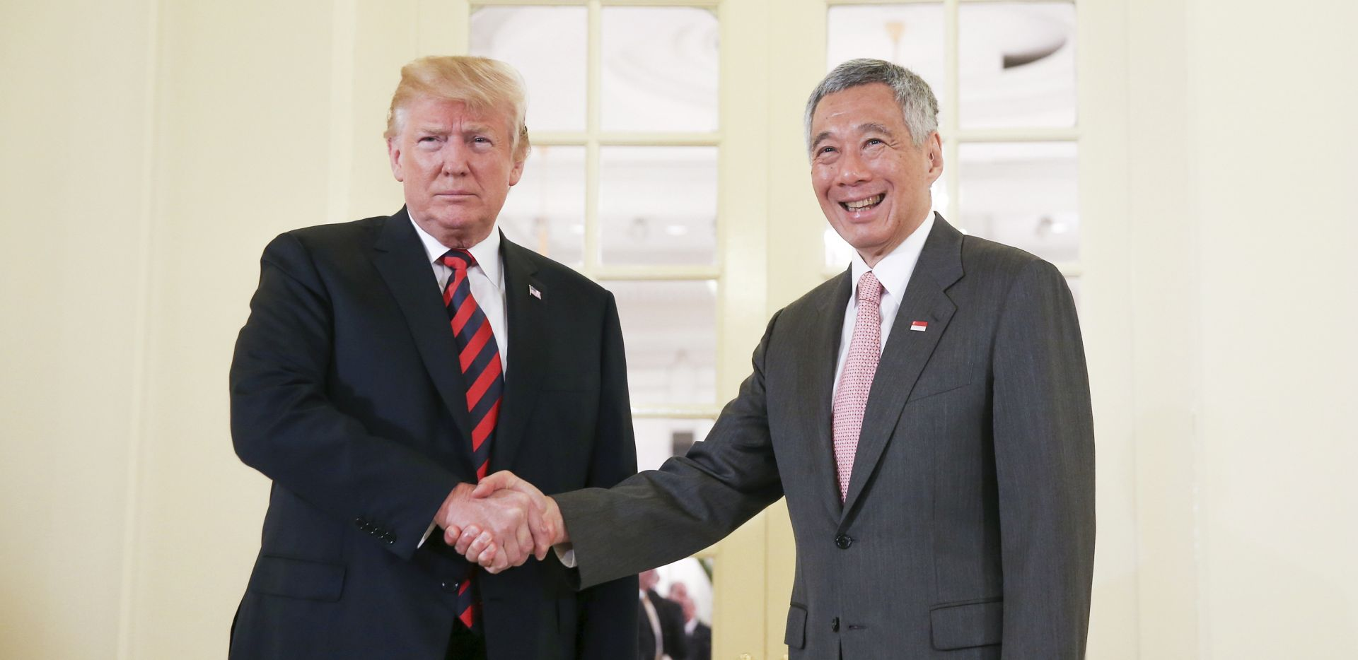 Trump se uoči sutrašnjeg summita sastao sa singapurskim premijerom
