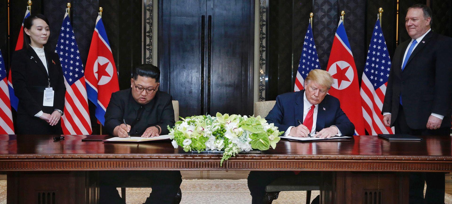 Evo što su potpisali Trump i Kim