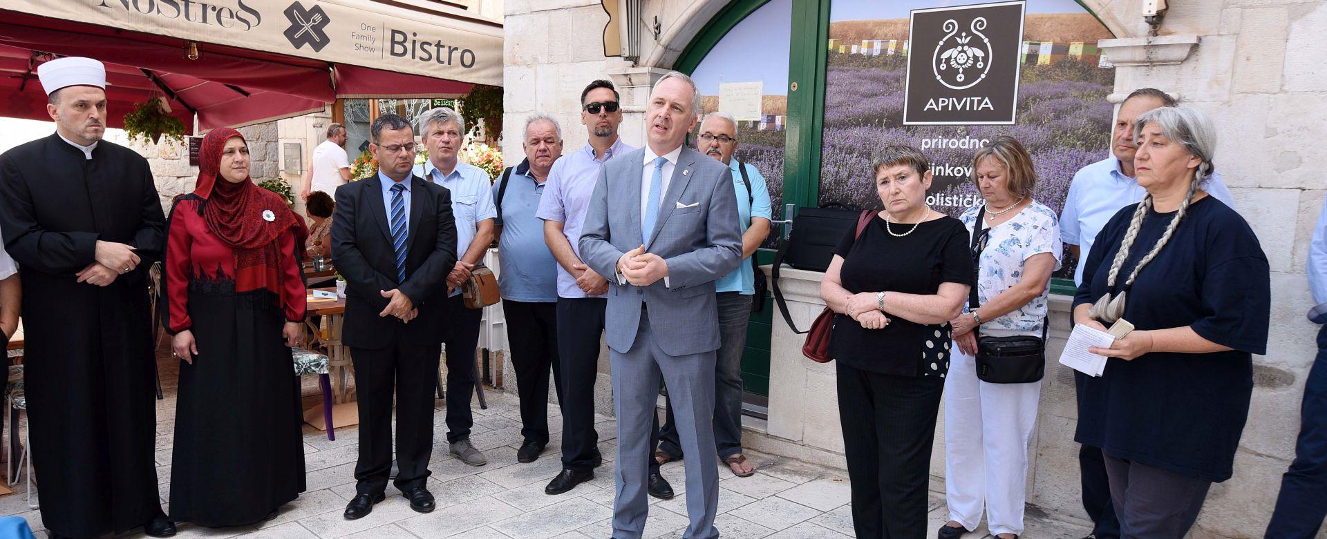 U Splitu otkrivena ploča za sjećanje na devastaciju Židovske zajednice