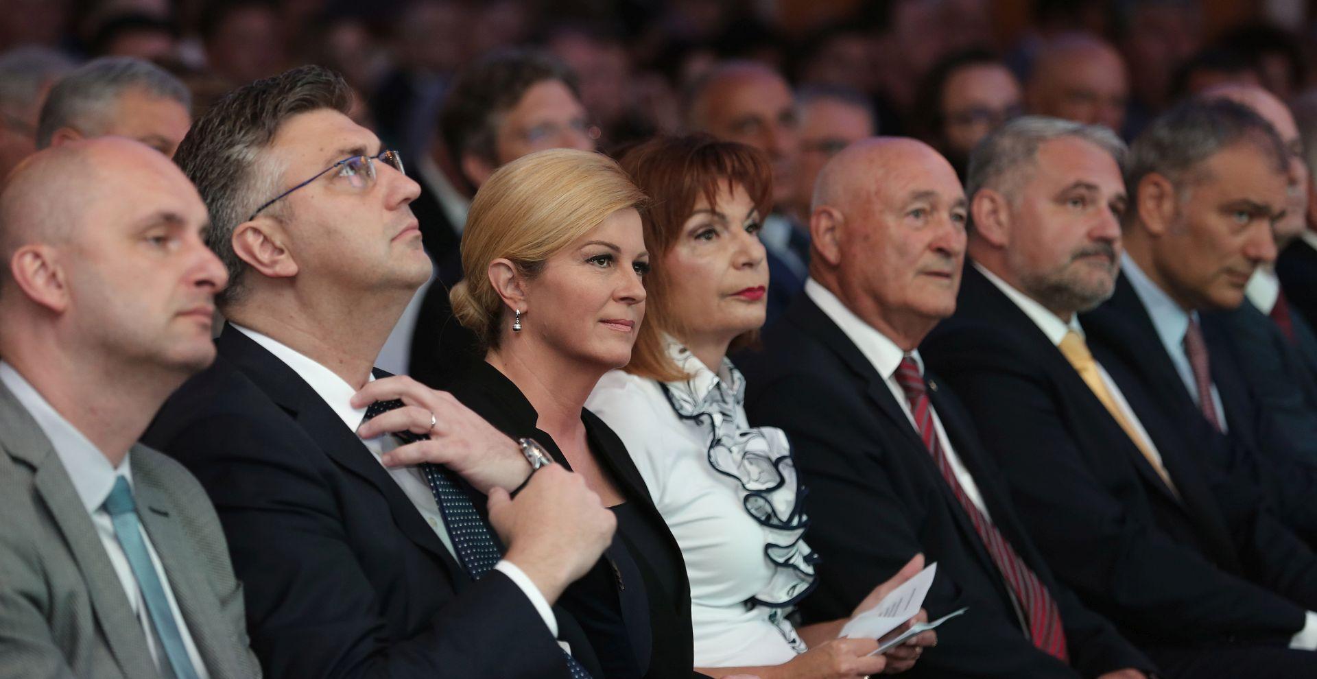 """GRABAR KITAROVIĆ """"Odnosi mene i premijera Plenkovića bolji su nego što je to prikazano u javnosti"""""""