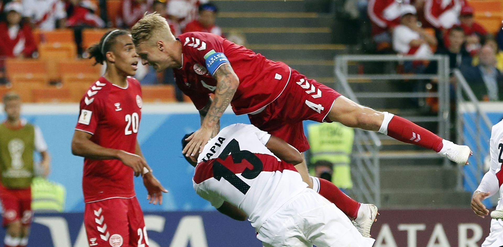 Danska minimalno slavila protiv Perua