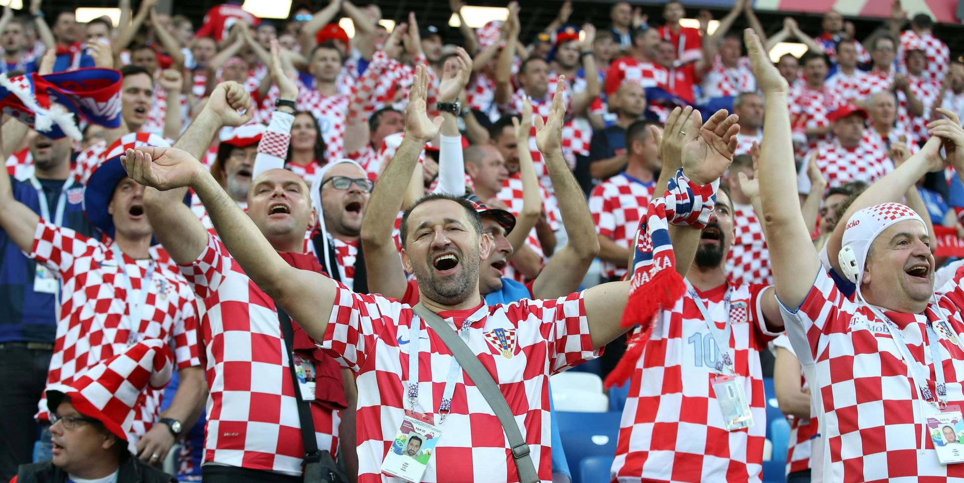 FOTO: Hrvatska u Kalinjingradu igrala na 'domaćem terenu'