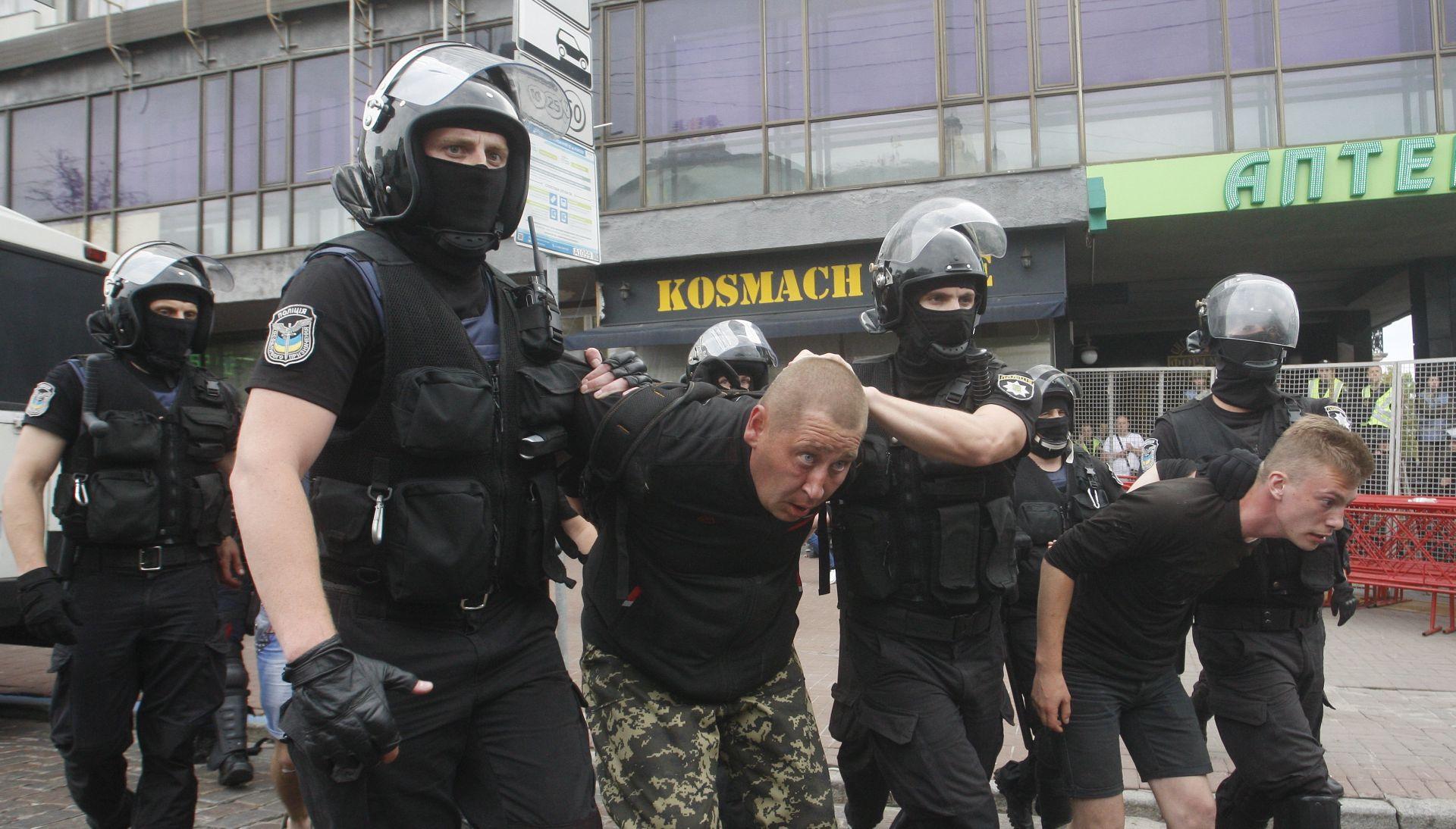 Kijevska policija privela 56 ekstremnih prosvjednika protiv Parade ponosa