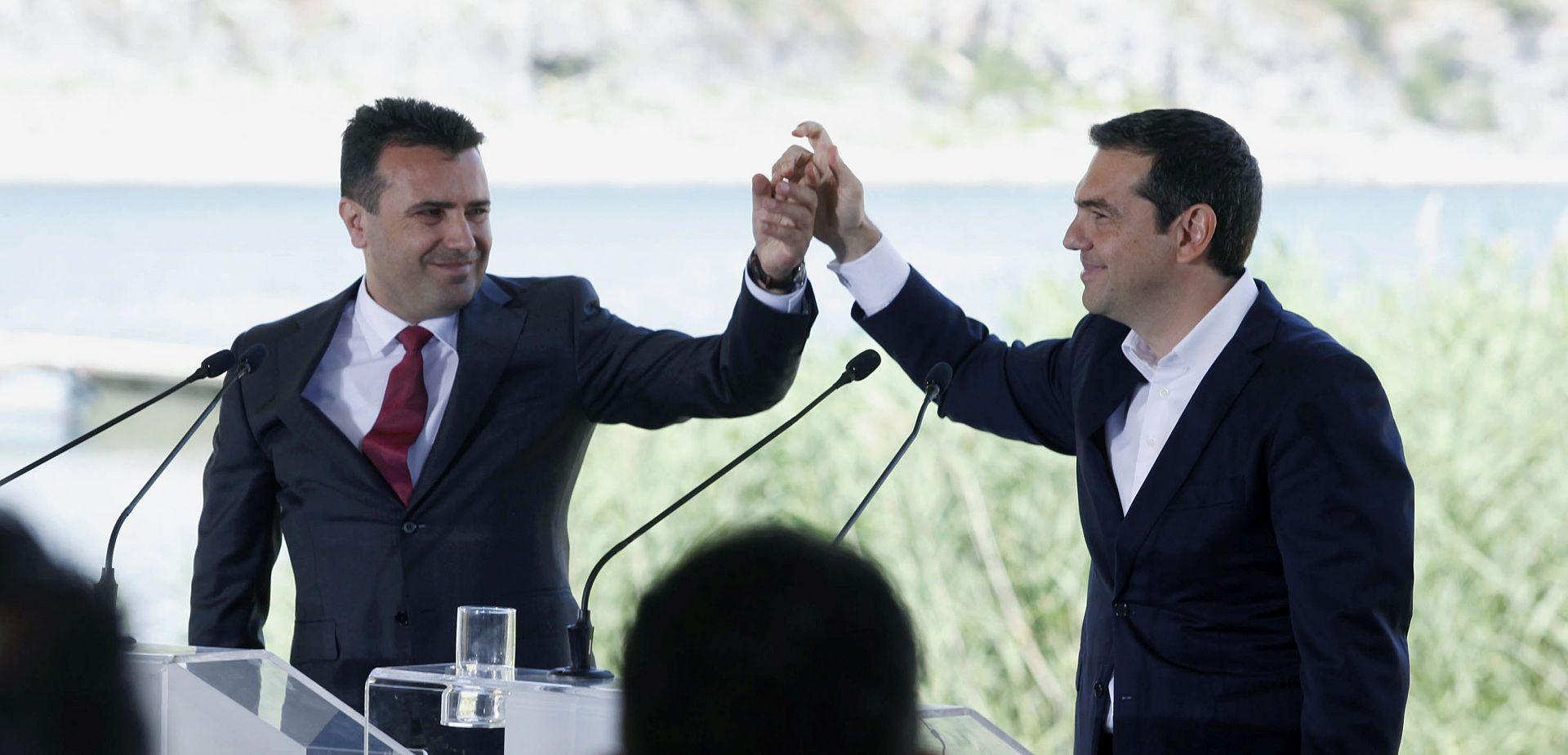 Potpisan povijesni sporazum o promjeni imena Makedonije