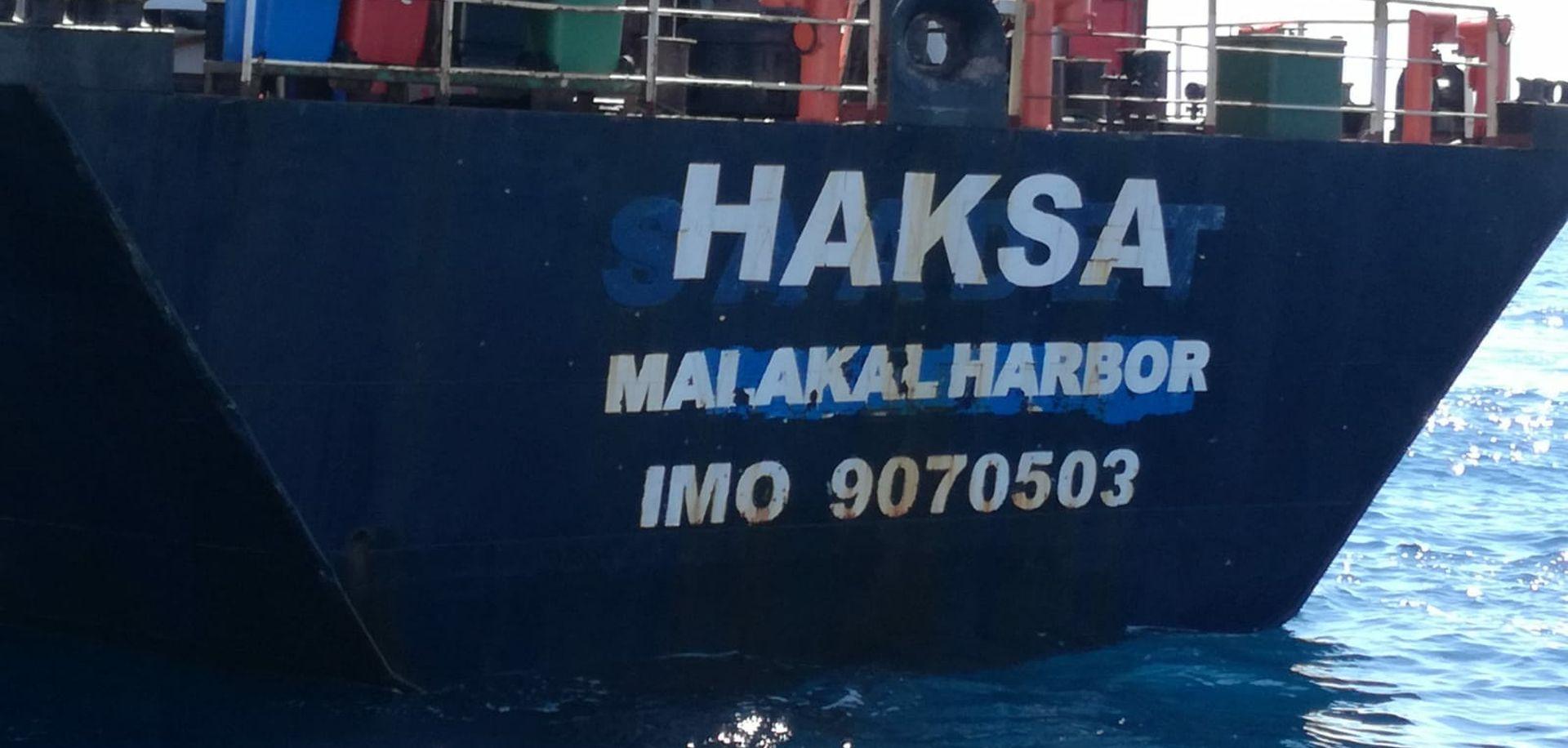 Pojavila se nova rupa na turskom brodu, tegljenje prekinuto
