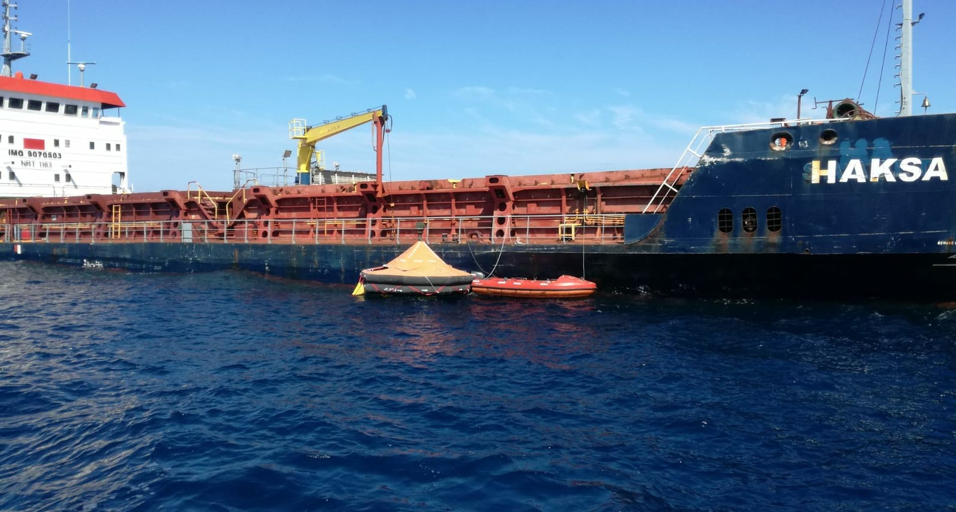 Nastavljeno tegljenje turskog broda Haksa prema Trogiru