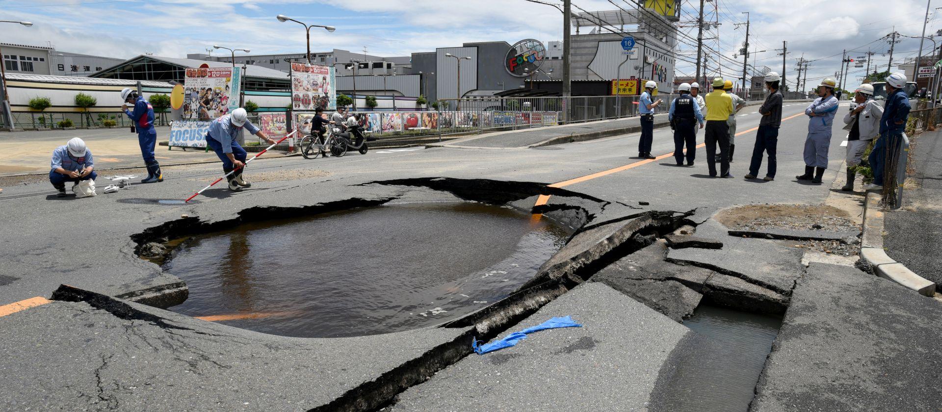 Potres u Japanu odnio tri života, više od 200 ozlijđenih