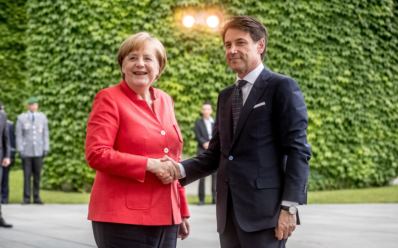 Merkel i Conte zajednički o rješenju problema izbjeglica i siromaštva u EU-u