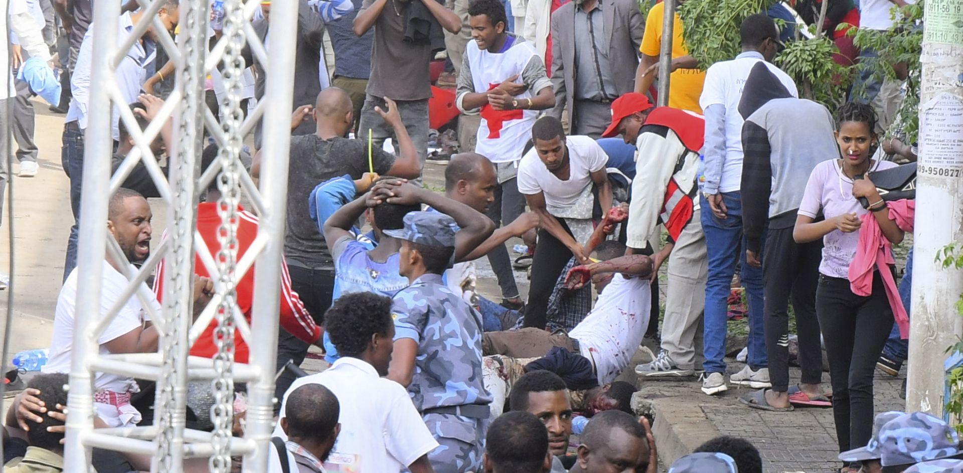 Najmanje 83 ozlijeđenih u eksploziji u Adis Abebi