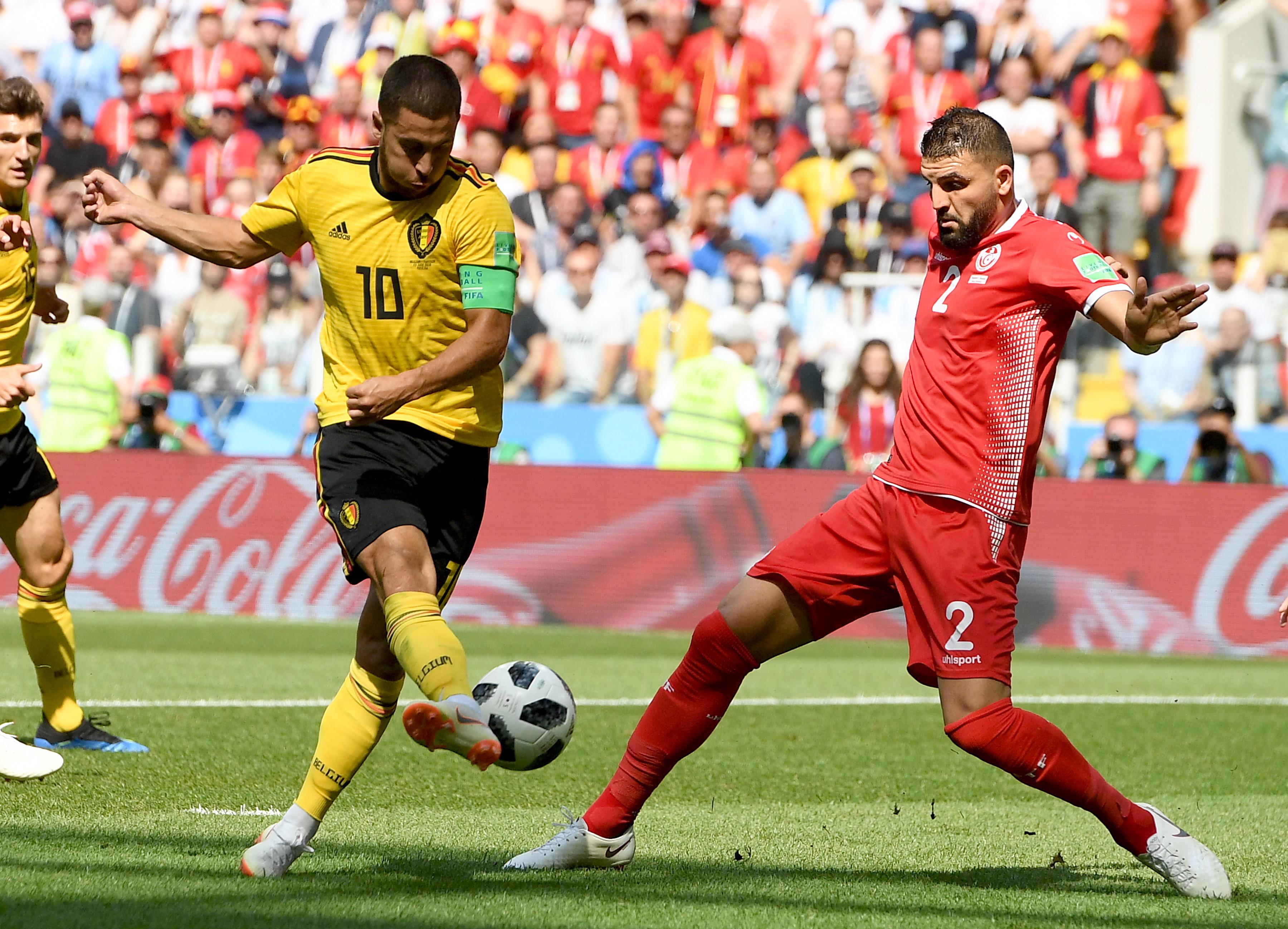 Belgija uvjerljiva protiv Tunisa