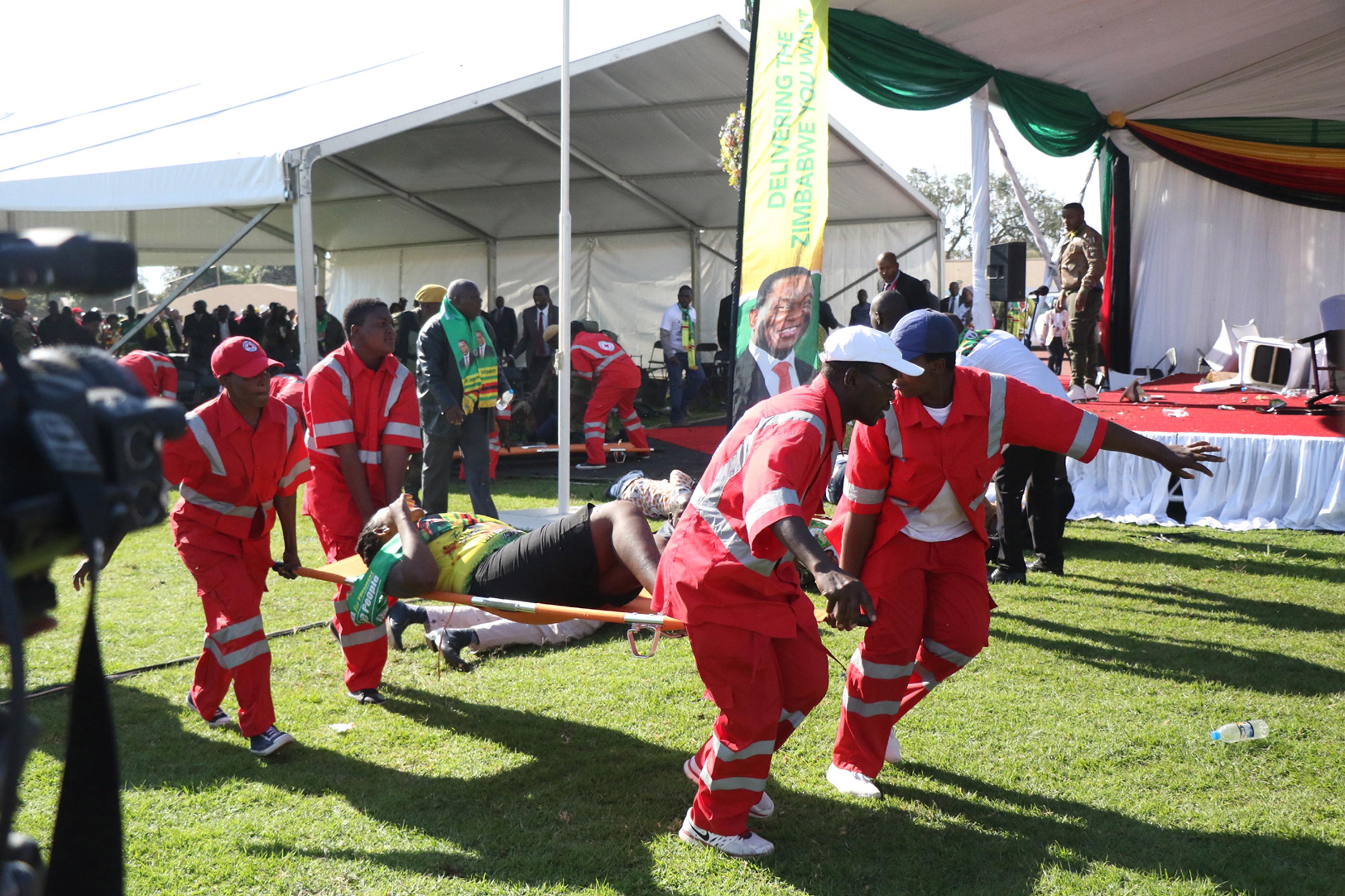 U atentatu na zimbabveanskog predsjednika ozlijeđeno 49 ljudi