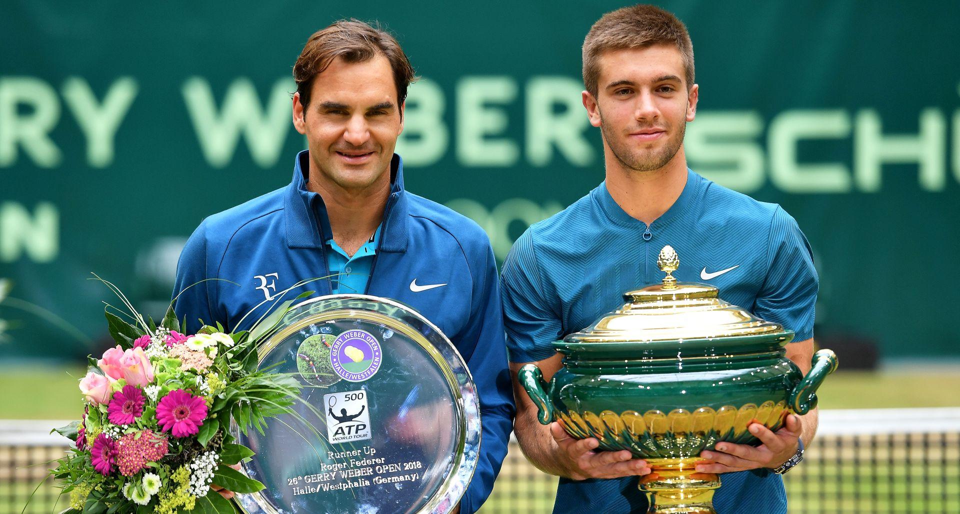 Ćorić pobjedom nad Federerom osvojio ATP Halle