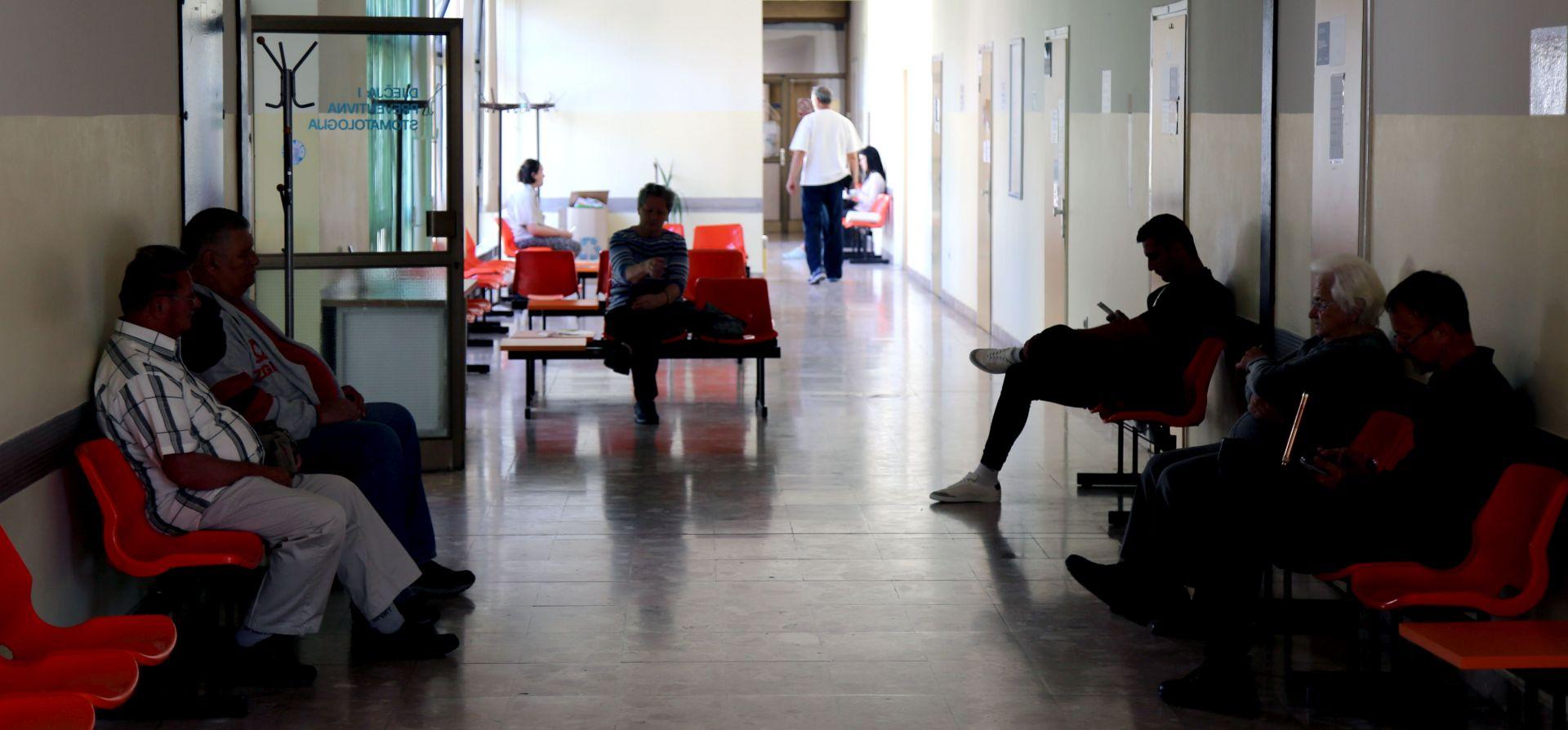 Oko 700 ordinacija radi usporeno; 20 minuta po pacijentu