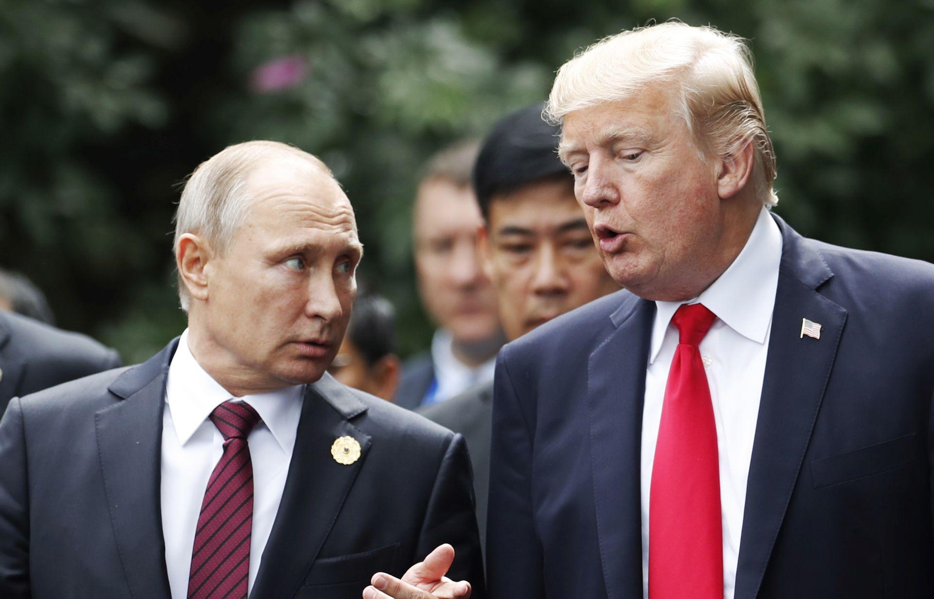 """TRUMP: """"Odnosi s Rusijom promijenili se nabolje"""""""