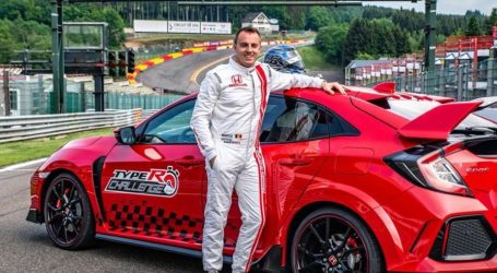 VIDEO: Bertrand Baguette sjeo za volan Honde Civic Type R