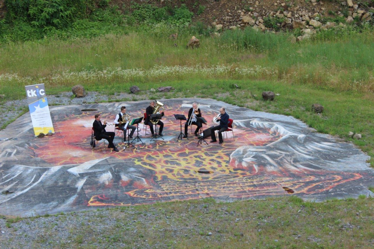Simply Brass Quintet održao koncert u grotlu ugaslog vulkana u Lepoglavi