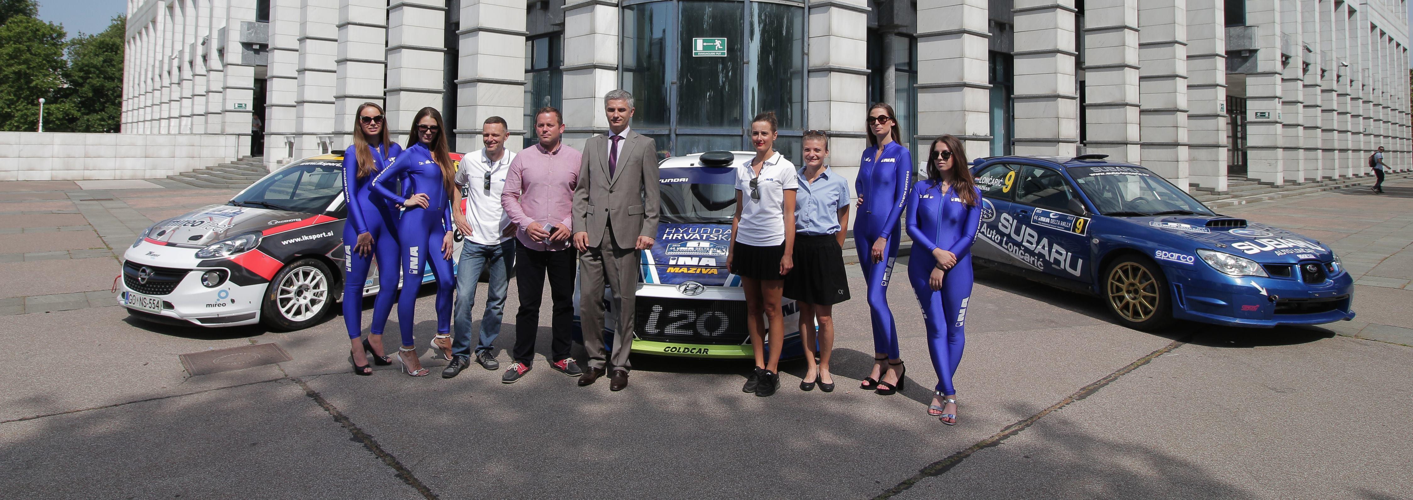 INA Delta Rally se ove godine boduje i za Alpe Adria Rally Cup