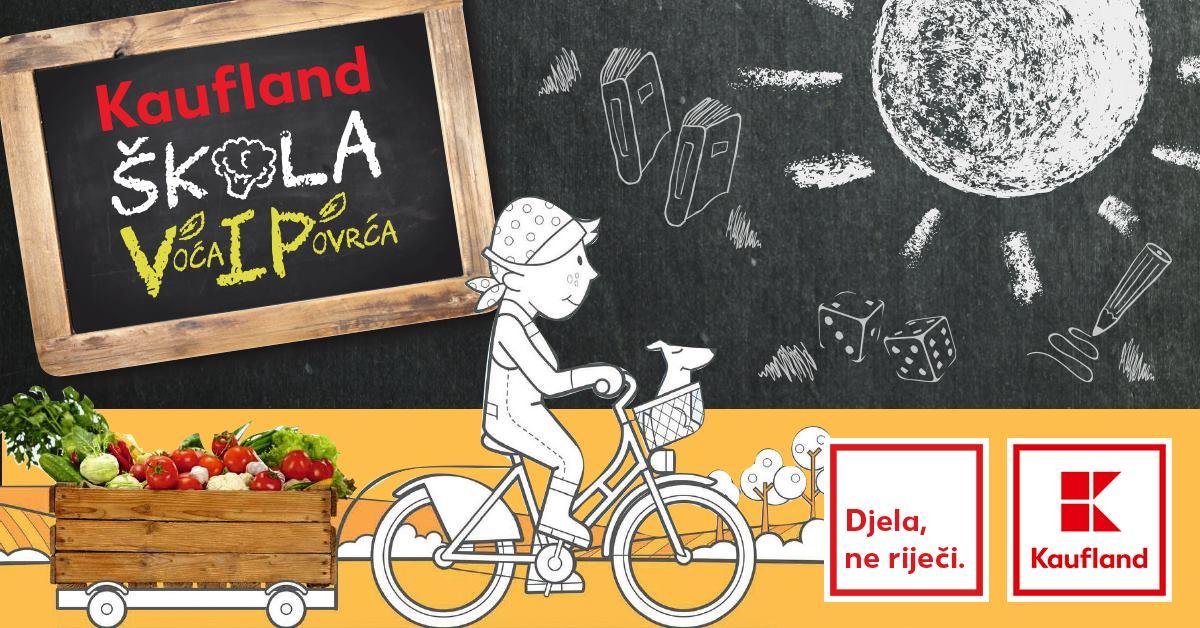 KAUFLAND Besplatno svježe voće i povrće za 38 javnih osnovnih škola