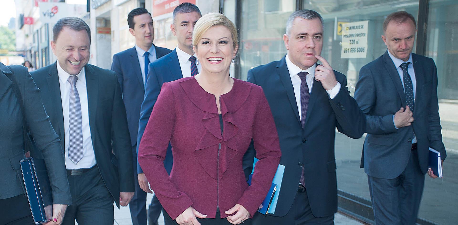 Predsjednica ulazi u rat s Plenkovićem oko HDZ-a
