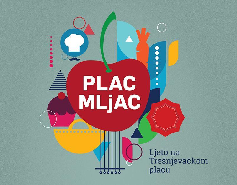 PLAC MLJAC Urbano ljeto na Trešnjevačkom placu