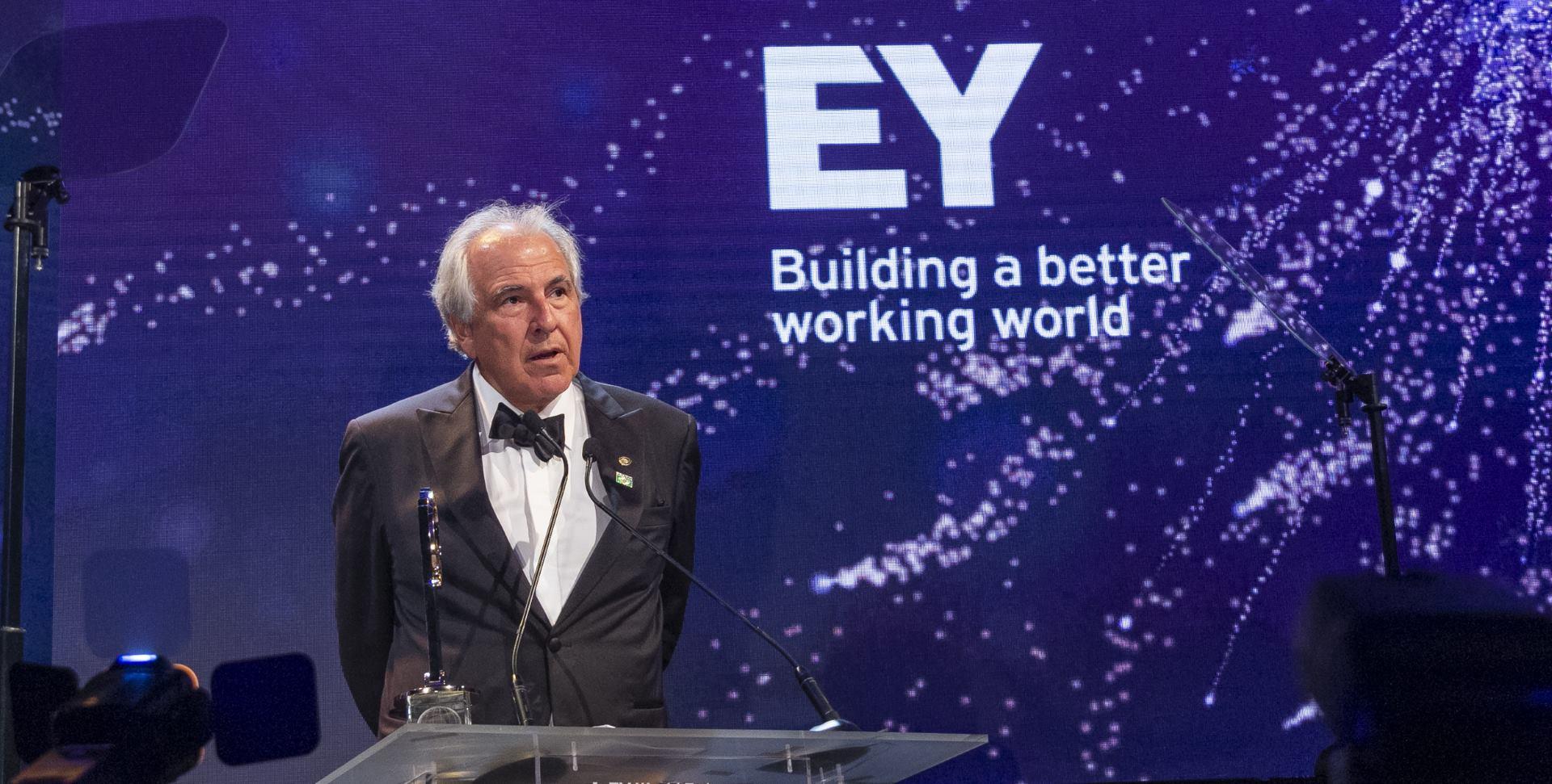 Novi EY Svjetski poduzetnik godine je Rubens Menin