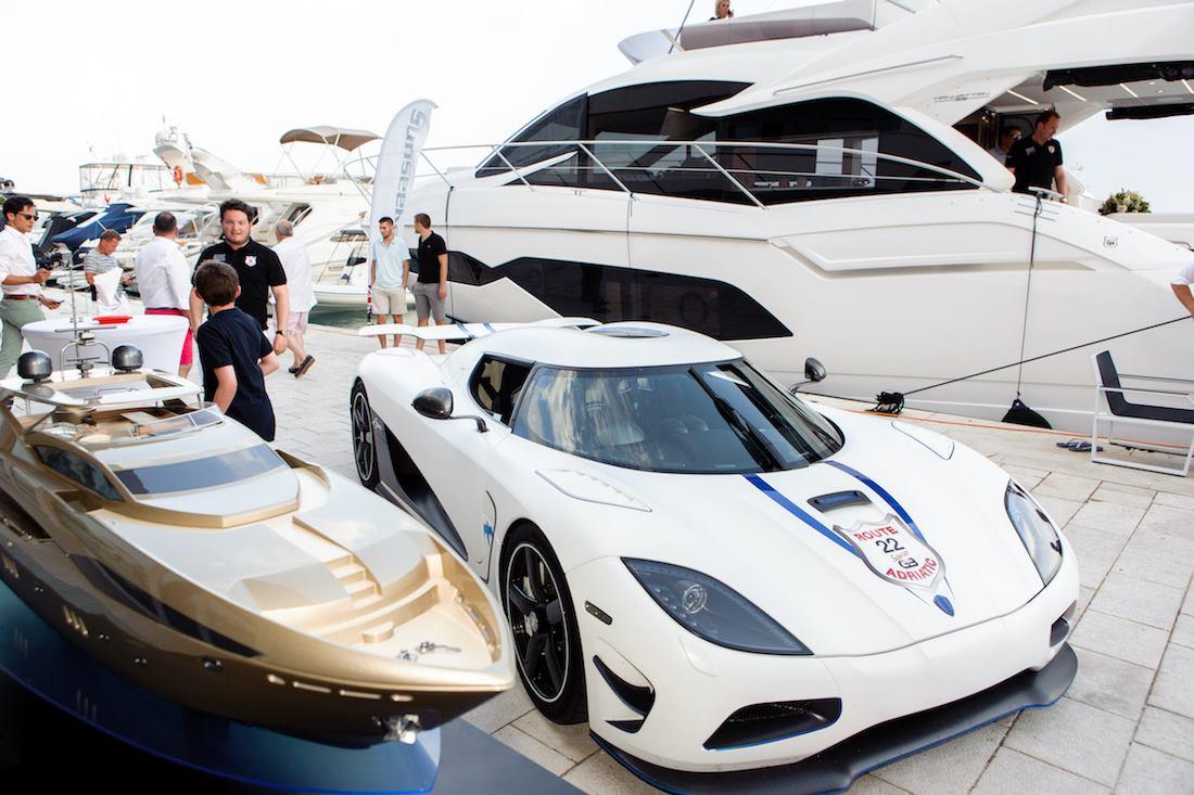 SUNSEEKER ADRIATIC Jahte, najskuplji auti na svijetu i poznati na druženju u Marini Lav u Splitu