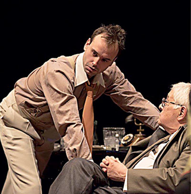 Krležina drama 'U agoniji' u izvedbi Beo Arta u Teatru Exit