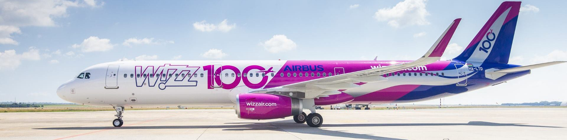 Wizz Air uveo stoti avion u svoju flotu