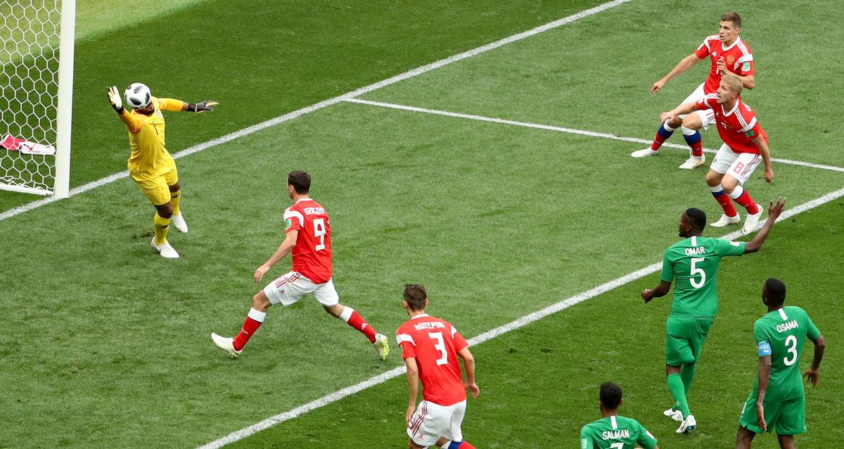 SP Rusija – Saudijska Arabija 5-0