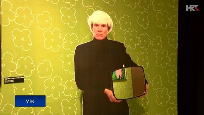 VIDEO Zadar: Izložba o pop ikoni Andyu Warholu