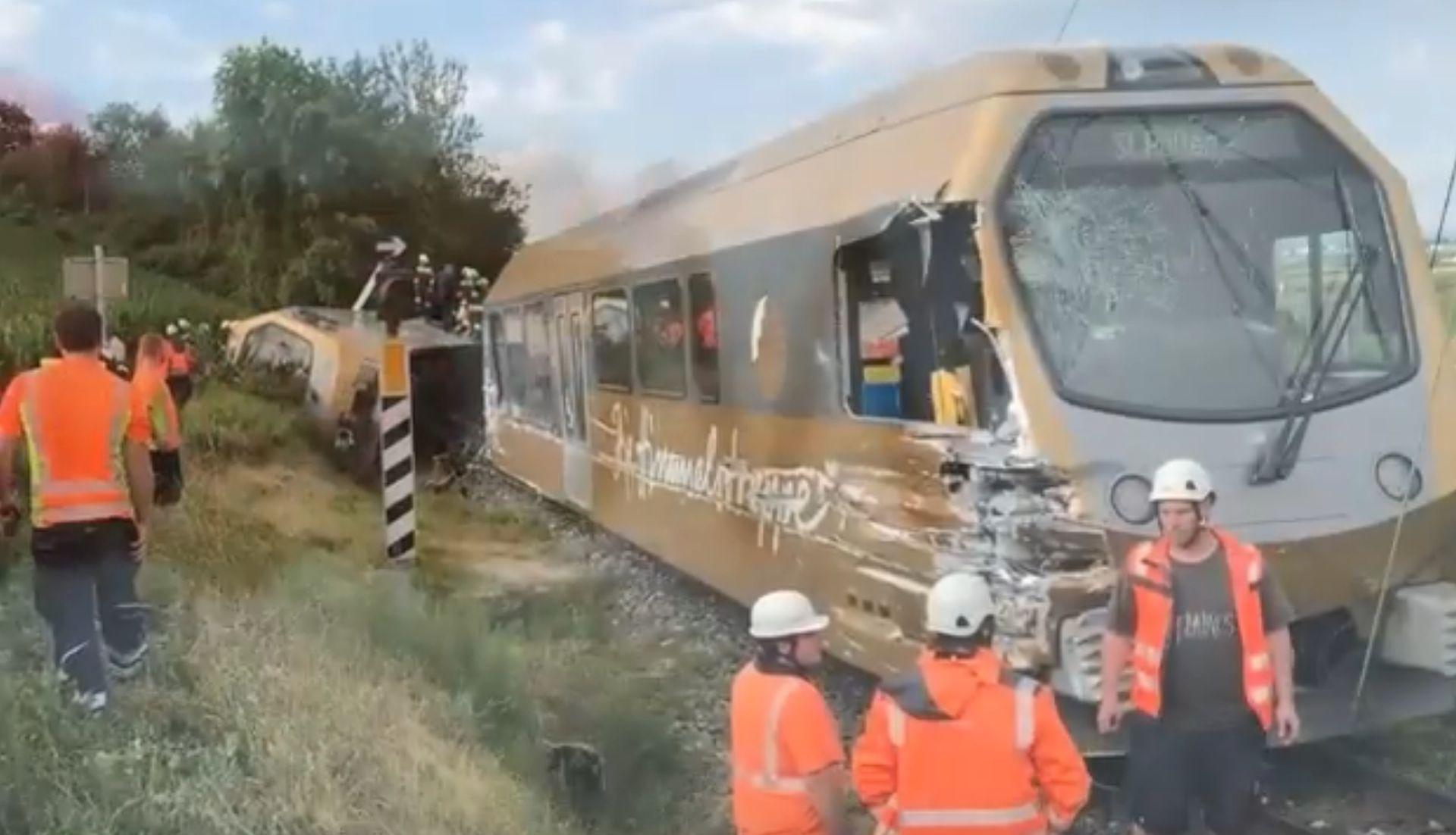 AUSTRIJA U iskakanju vlaka iz tračnica 30 ozlijeđenih