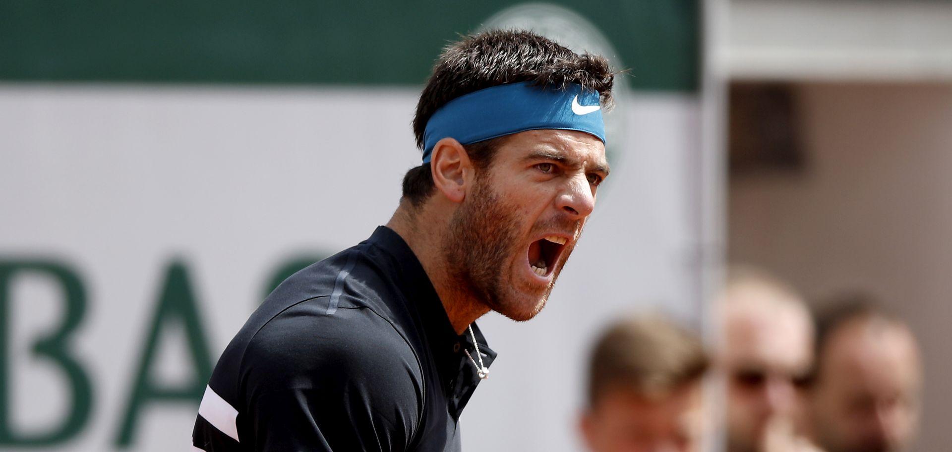 Roland Garros: Del Potro po 11. put svladao Čilića i prošao u polufinale