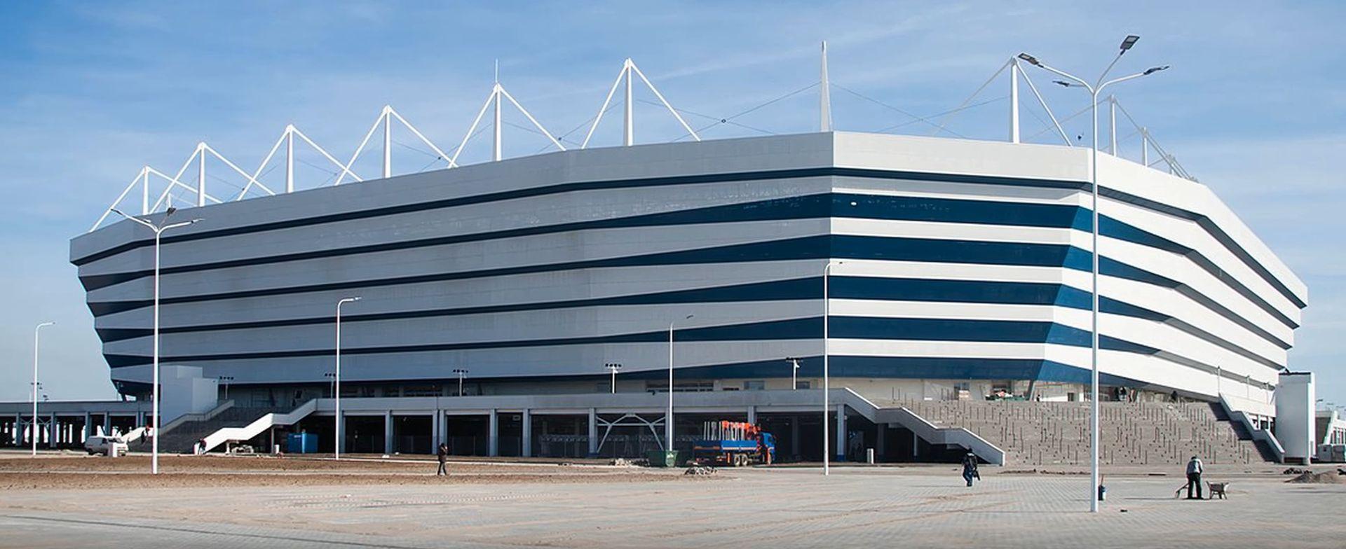 Impresivni stadion u Kalinjingradu izgrađen na močvari