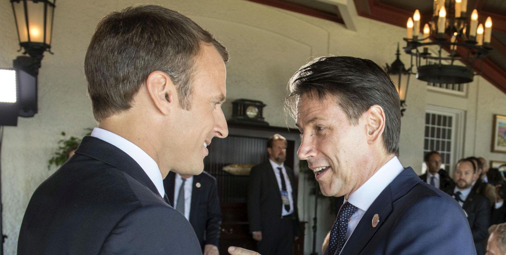 Ipak sastanak Conte-Macron
