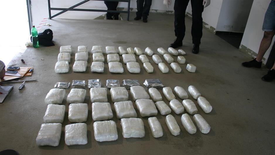 Zapljena 64 kg marihuane i 5,5 kg hašiša