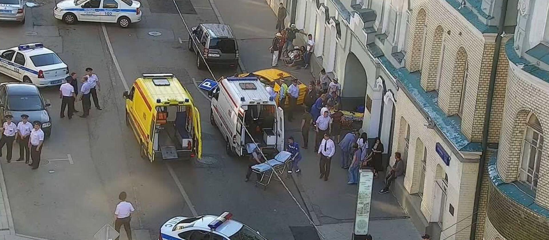 Taksist se zaletio u navijače u centru Moskve, 8 ozlijeđenih