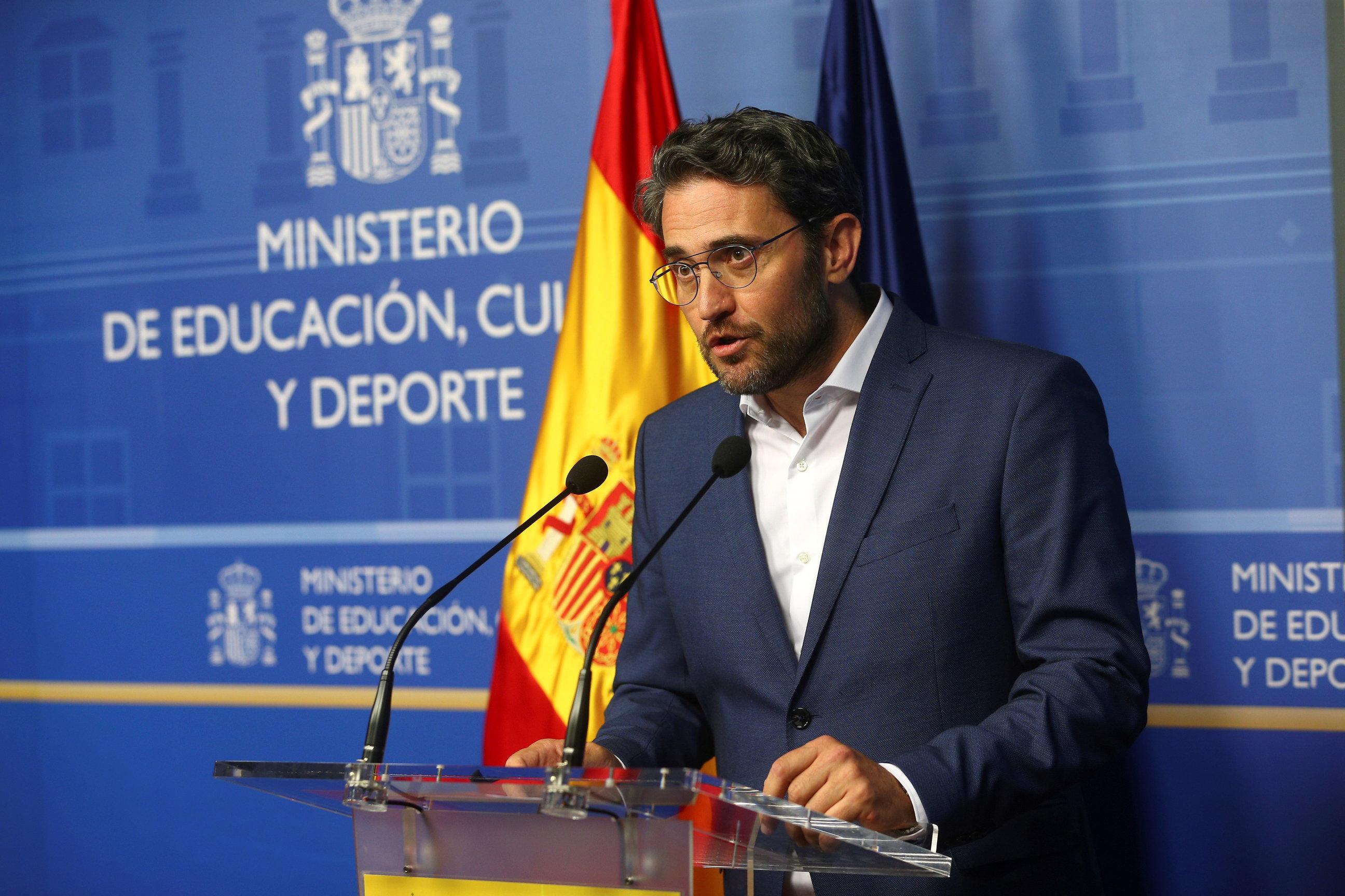Španjolski ministar kulture i sporta podnio ostavku nakon samo šest dana