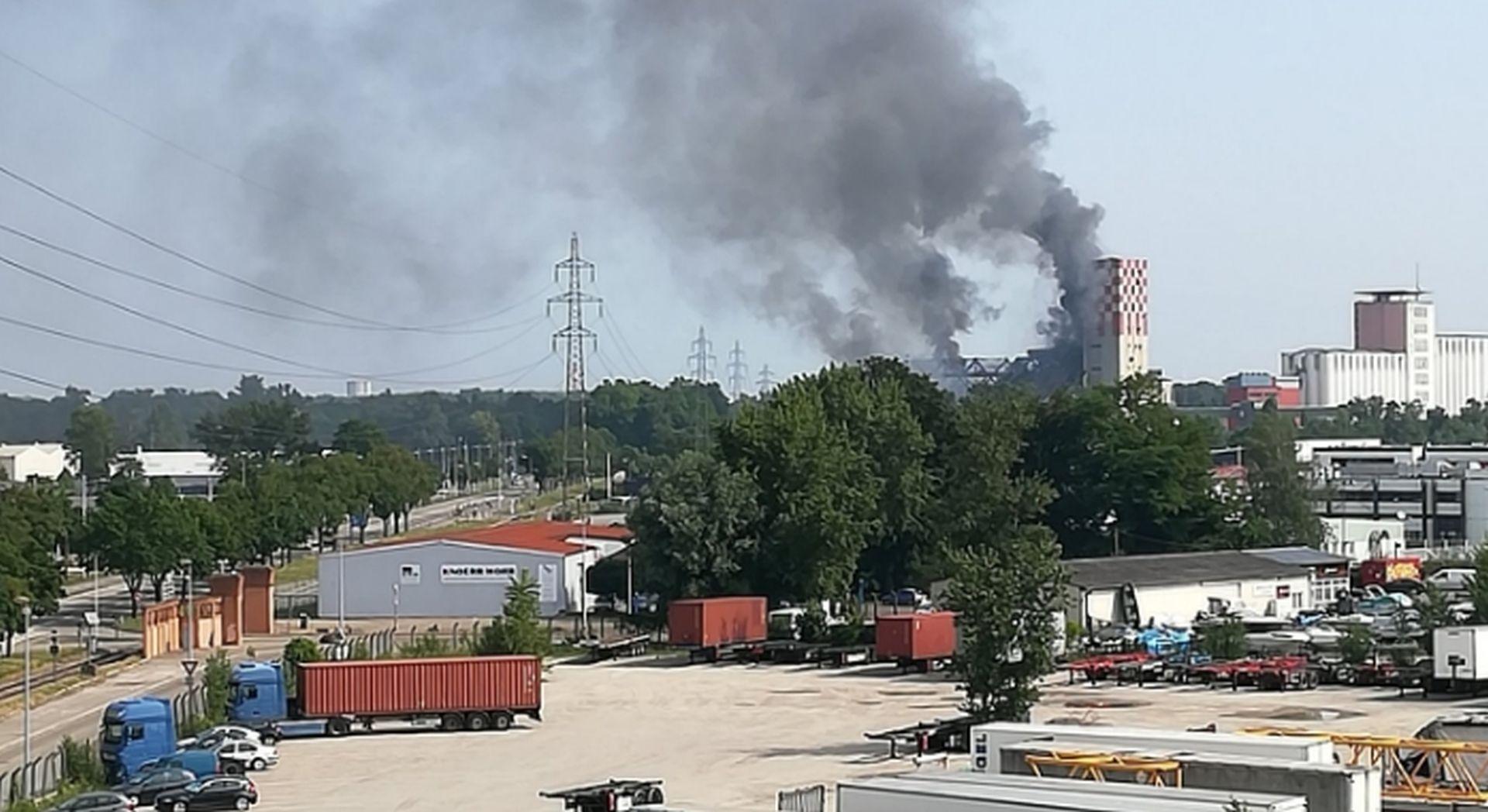 Eksplozija u silosu žita u Strasbourgu, 11 ozlijeđenih