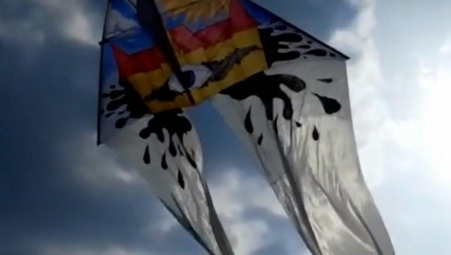 Leteći zmajevi na Savskom nasipu, izložba i benefit koncert učenika ŠPUD-a