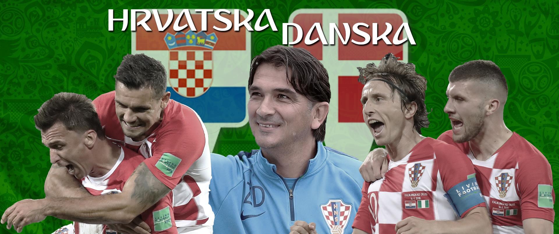 Hrvatska – Danska 3:2 (1:1), Hrvatska je u četvrtfinalu!