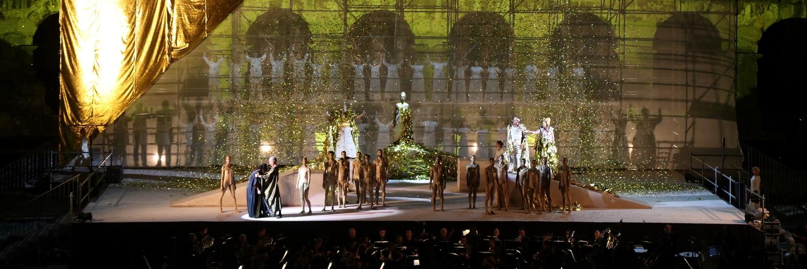 """FOTO: U pulskoj Areni izvedena """"Aida"""""""