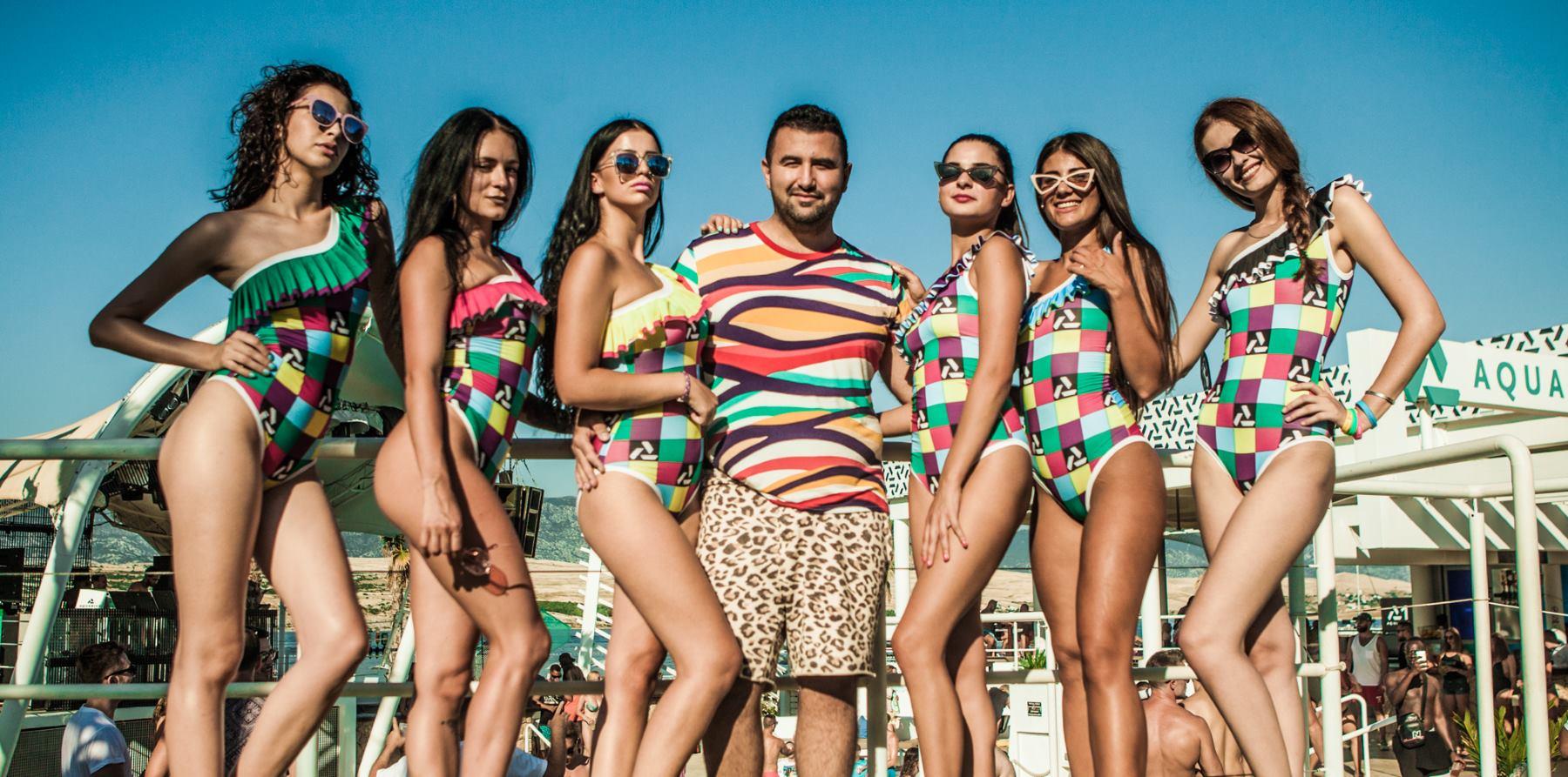 FOTO: Nastavljena ljetna suradnja dizajnera Zorana Aragoviča i kluba Aquarius