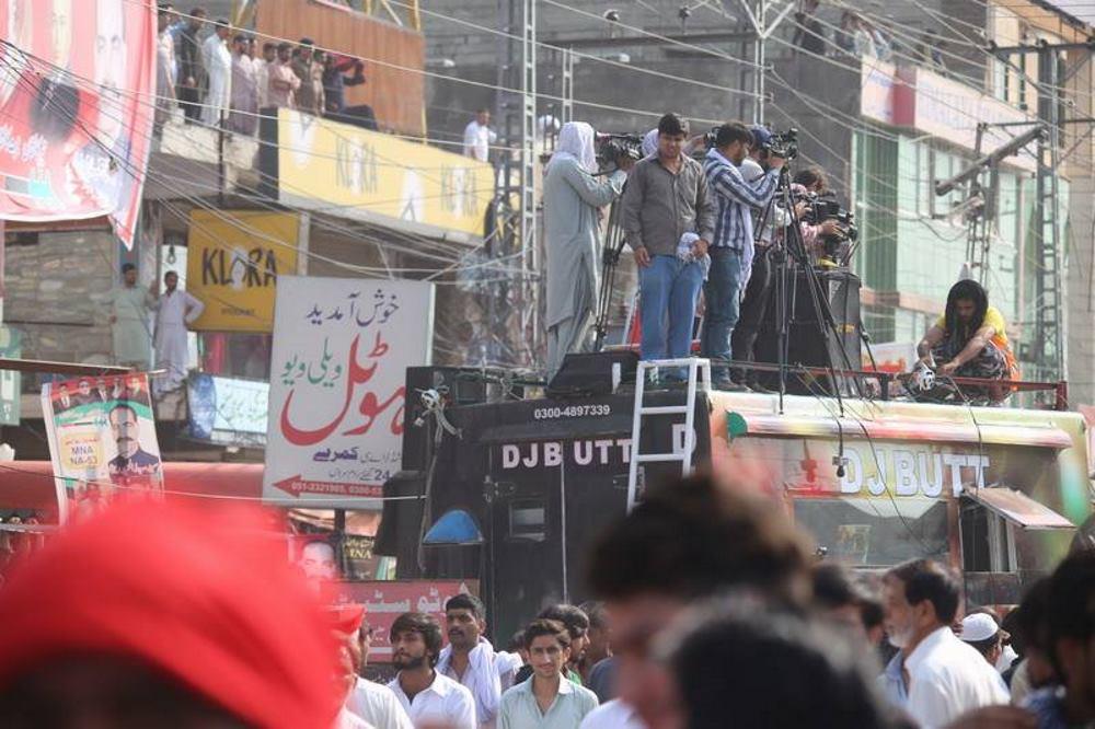 VIDEO: Stogo osiguranje i party ritam prije izbora u Pakistanu