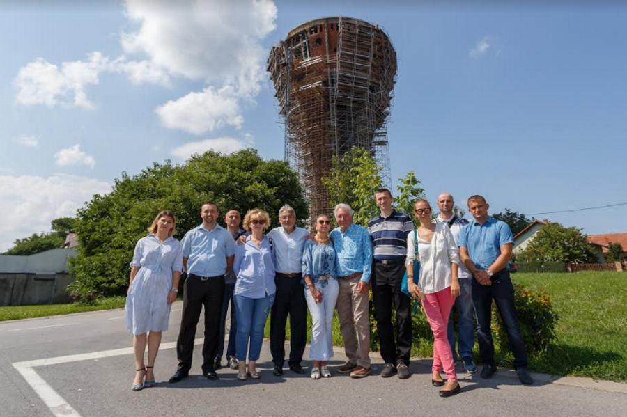 Donacija grupacije Cortec® za obnovu vukovarskog Vodotornja