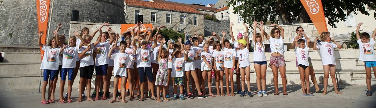 Treće izdanje Color Run, Swim and Fun projekta u Gradu Korčuli
