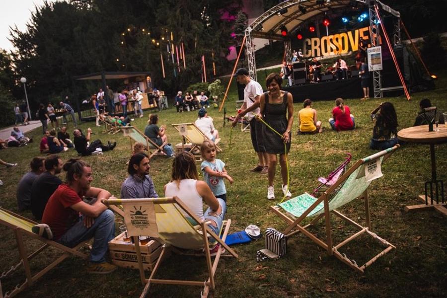 TZGZ Glazbeni Crossover festival u zagrebačkom parku Ribnjak