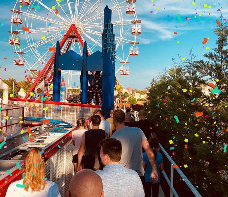 VIDEO: Prvi rođendan Fun parka Biograd u znaku 'Vatrenih'
