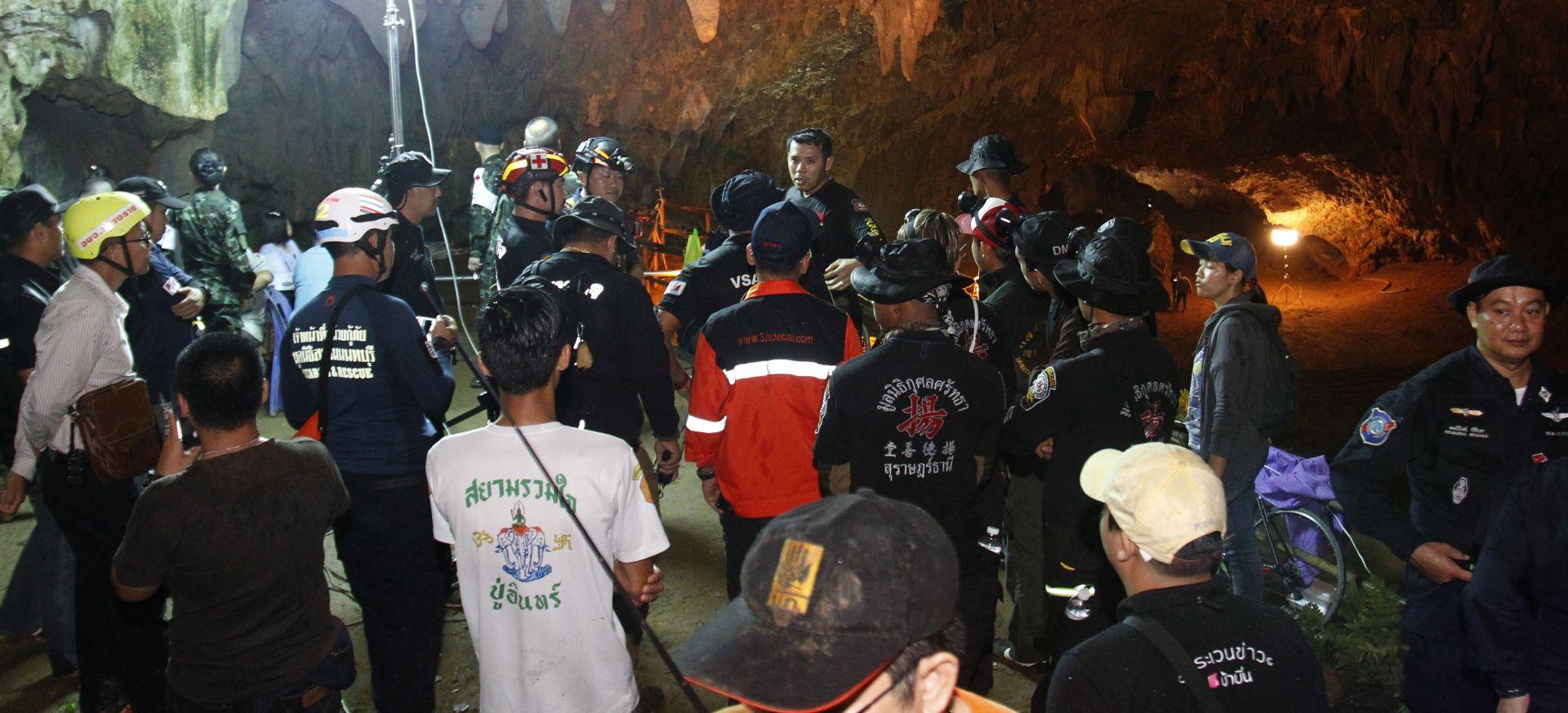 TAJLAND Spašena četiri dječaka iz spilje, akcija traje brže od predviđenog