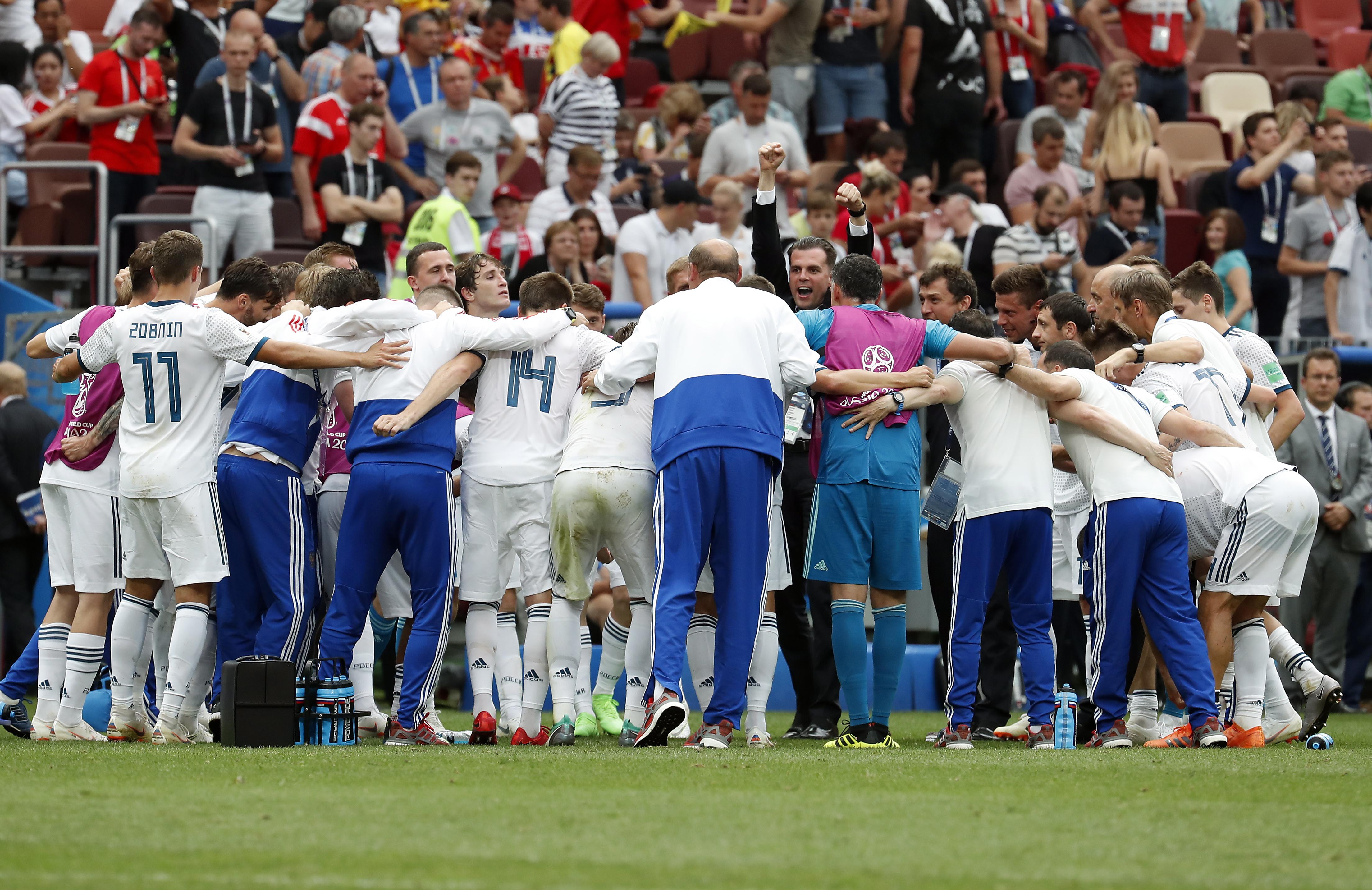 Rusija izbacila Španjolsku, u četvrtfinalu čeka Hrvatsku